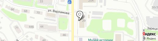 Учебный центр охраны труда, ЧОУ на карте Петрозаводска