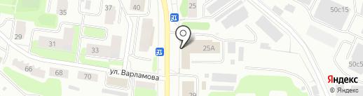 Отдел безопасности людей на водных объектах на карте Петрозаводска