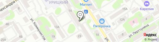 Северо-Западная ритуальная компания на карте Петрозаводска