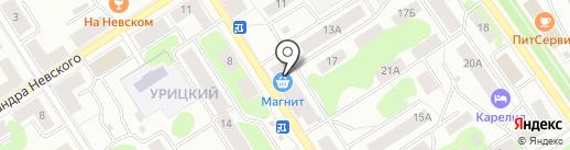 Дизайн-Комфорт на карте Петрозаводска