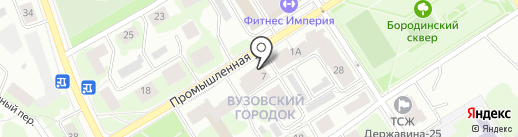 KIDS party на карте Петрозаводска