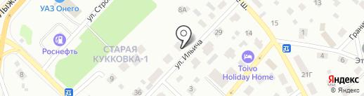 АвтоRUSКомфорт на карте Петрозаводска