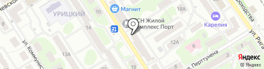 Best Buy на карте Петрозаводска