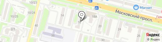 Максавит на карте Брянска