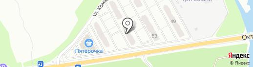Брянск-Оценка на карте Брянска