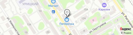 Селена, ТСЖ на карте Петрозаводска