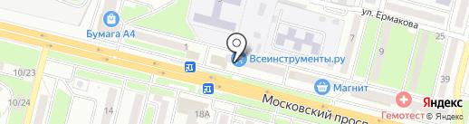 Пальчики на карте Брянска