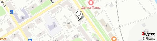 Оплот Плюс на карте Петрозаводска