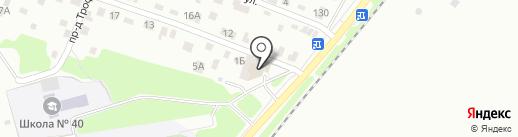 Фокинский на карте Брянска
