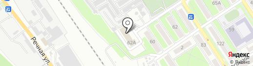 Пожарная часть №4 Володарского района на карте Брянска