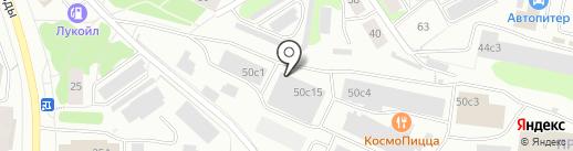 #НаноМебельПтз на карте Петрозаводска