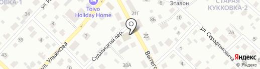 AvtoBaam на карте Петрозаводска