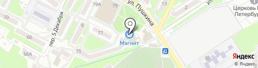 Мастерская на карте Брянска