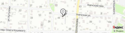 Первый мебельный на карте Брянска