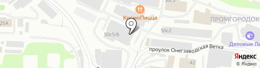 АвтоМаш на карте Петрозаводска