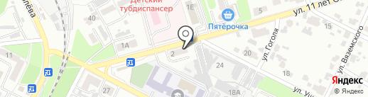 Промбытхолод на карте Брянска