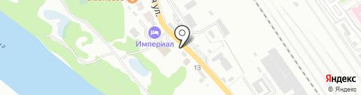 АвтоРай на карте Брянска