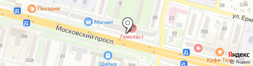 Банк ВТБ 24, ПАО на карте Брянска