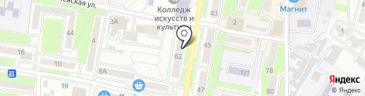 ГранПью на карте Брянска
