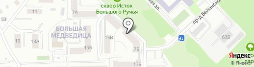 А в Кубе на карте Петрозаводска