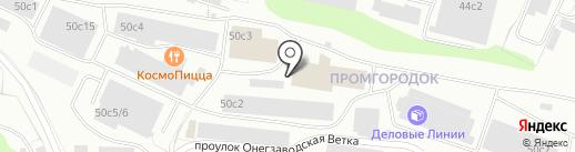 Мастерская по ремонту обуви на карте Петрозаводска