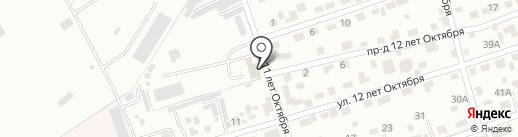 Тахограф-Сервис на карте Брянска