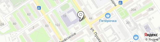 Средняя общеобразовательная школа №46 на карте Брянска