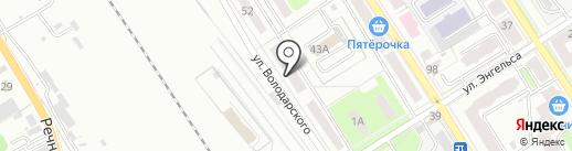 ЖЭУ №8 на карте Брянска
