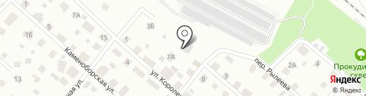 Mercedes-Benz на карте Петрозаводска