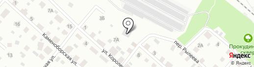 Центр авторазбора Mercedes-Benz на карте Петрозаводска