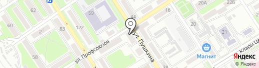 Фотоателье Астахиных на карте Брянска