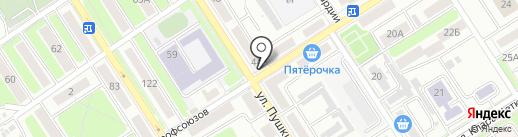 Мировые судьи Володарского района на карте Брянска