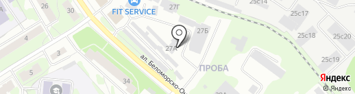 Лонмади, ЗАО на карте Петрозаводска