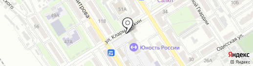 Магазин овощей и фруктов на карте Брянска