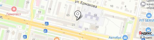 Продовольственный магазин на карте Брянска