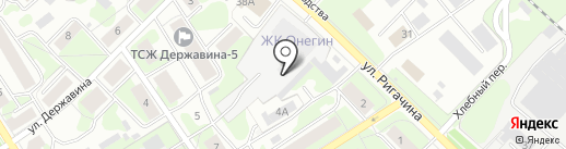 Лада-Нива на карте Петрозаводска