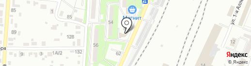 Автотехцентр на карте Брянска