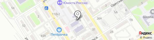 Брянский институт повышения квалификации работников образования на карте Брянска