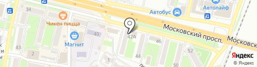 Нотариус Котляр М.Н. на карте Брянска