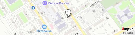 Водолей, ЗАО на карте Брянска