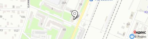 Магазин промышленных товаров на карте Брянска