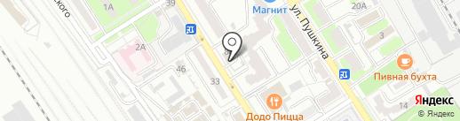 Швейное ателье на карте Брянска