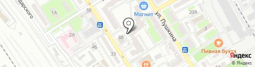 Региональный центр охраны труда, АНО на карте Брянска