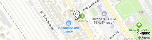 Элика на карте Брянска