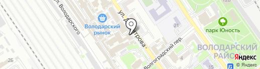 Акконд на карте Брянска