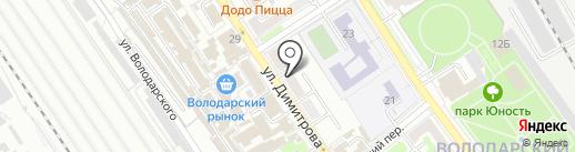 МЕБЕЛЬ ЭРА на карте Брянска