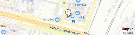 Росшина Инвест на карте Брянска