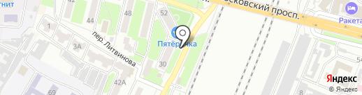 Сеть магазинов цветов и посадочных материалов на карте Брянска
