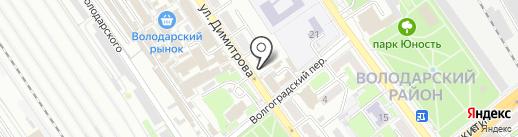 Грация на карте Брянска