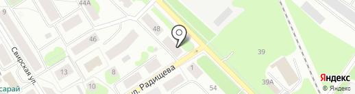ГЛЕМ на карте Петрозаводска
